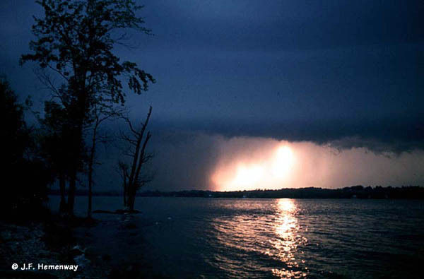 Storm over the Mississippi